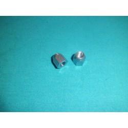 Vespa GS 150 coppia dadi fissaggio piastra sella