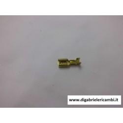 Vespa,lambretta e ape capocorda faston lamellare femmina mm 4,8