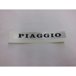 Vespa PX targhetta adesiva sella fondo grigio