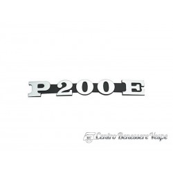 Art.Tar 048 targhetta laterale cofano p200e
