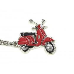 Art.Pc 004 porta chiavi vespa px rosso