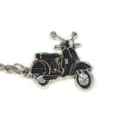 Art.Pc 005 porta chiavi vespa px colore nero