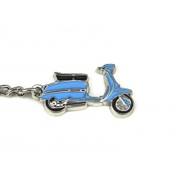 Art.Pc 006 porta chiavi lambretta DL colore turchese