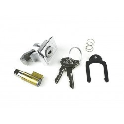 Vespa et3 px kit serratura bauletto+bloccasterzo 6mm ZADI