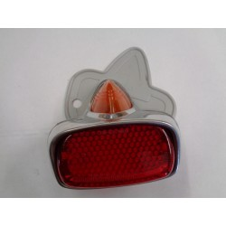 Vespa Gs 150 4a serie,vba vna fanale posteriore gemma arancione