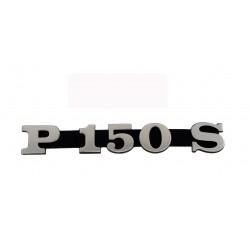 Vespa PX 150 targhetta laterale cofano